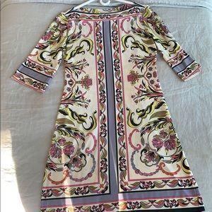Donna Morgan Patterned Dress Size 4